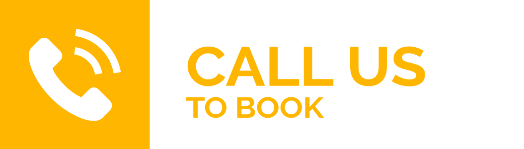 "An text and illustration that says ""Call Us to Book"""